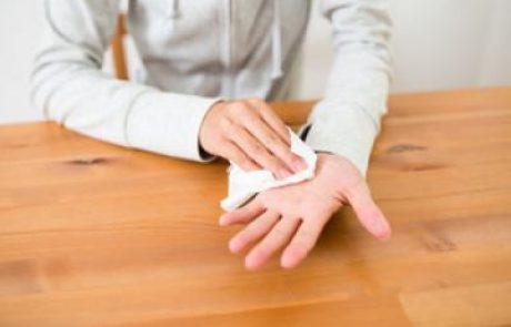 ניתוח לטיפול בהזעת יתר של כפות הידיים